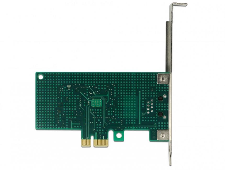 Imagine PCI Express la 1 x Gigabit LAN chipset Intel i210, Delock 89942-4
