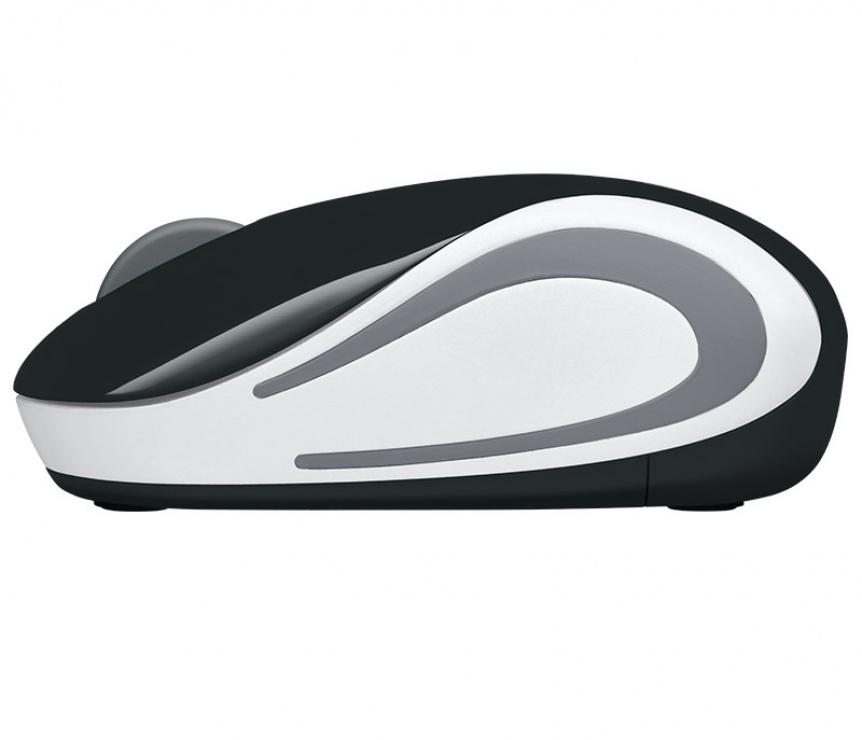 Imagine Mouse wireless M187 Alb/Negru, Logitech-3