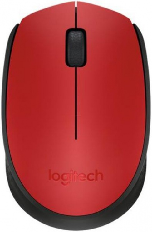 Imagine Mouse Logitech M171 Wireless Rosu