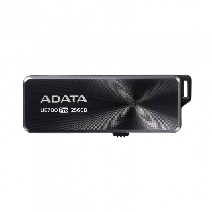Imagine Stick USB 3.1 256GB retractabil Black, ADATA UE700 Pro-1