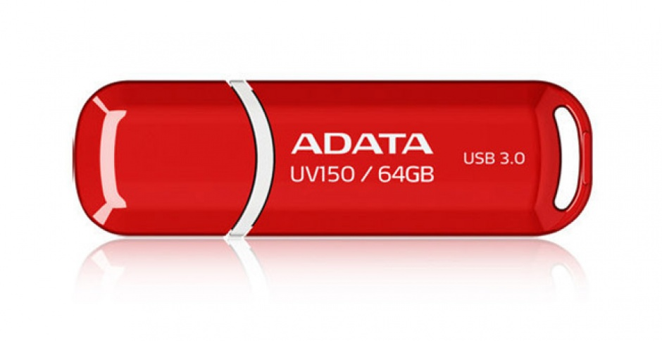 Imagine Stick USB 3.1 cu capac 64GB UV150 Rosu, ADATA AUV150-64G-RRD