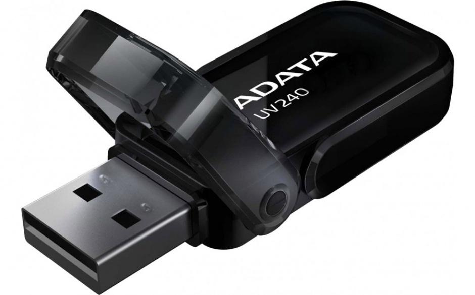 Imagine Stick USB 2.0 16GB ADATA UV240 Black-1
