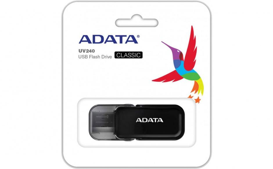 Imagine Stick USB 2.0 16GB ADATA UV240 Black-2