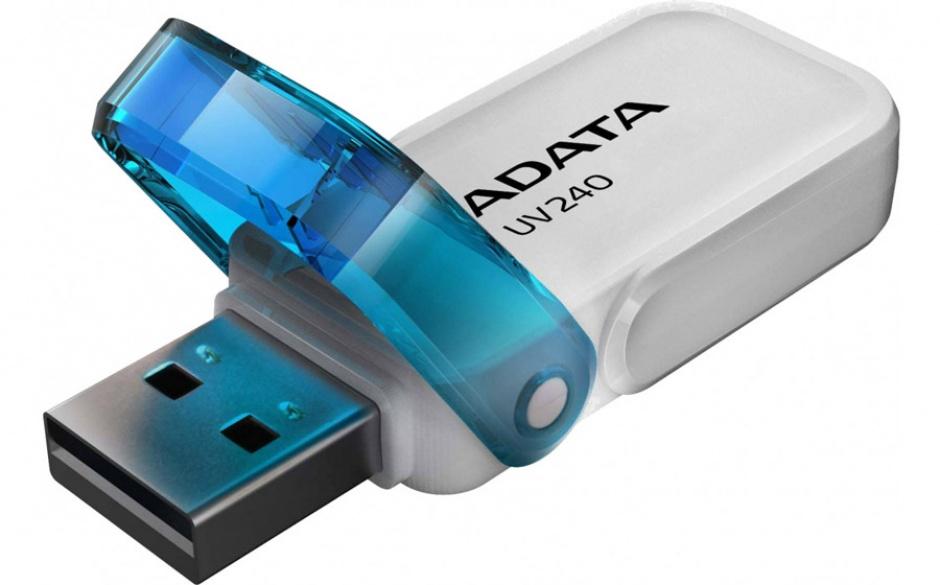 Imagine Stick USB 2.0 32GB ADATA UV240 White-1