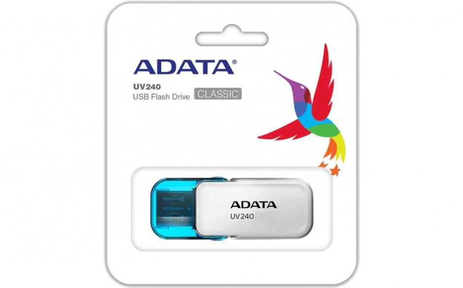 Imagine Stick USB 2.0 32GB ADATA UV240 White-2