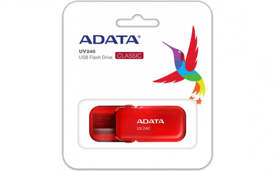 Imagine Stick USB 2.0 16GB ADATA UV240 Rosu-2