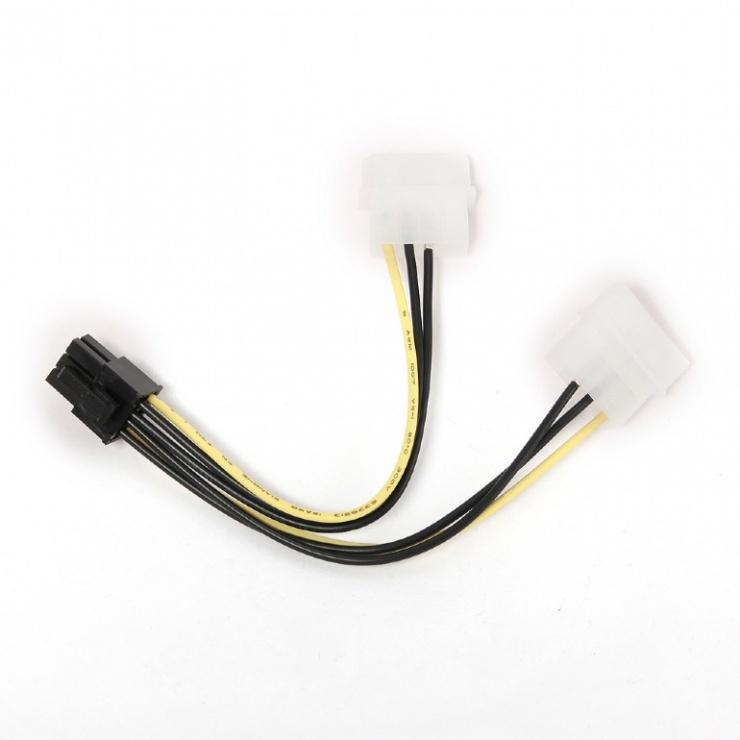 Imagine Cablu alimentare placa video PCI Express 6 pini, Gembird CC-PSU-6-1