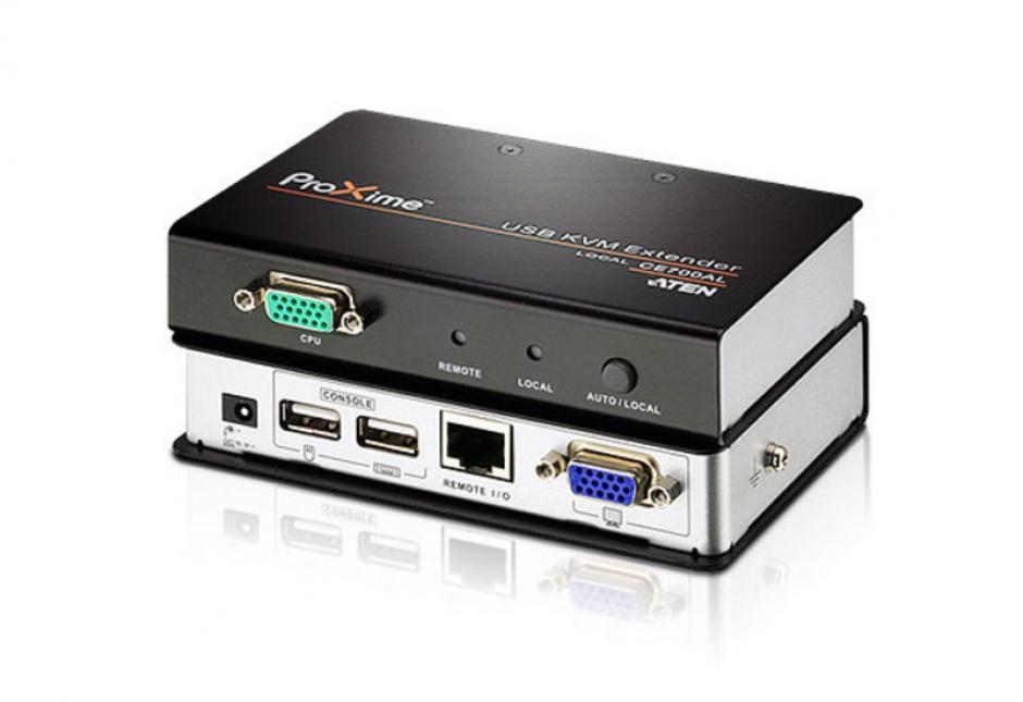 Imagine Extender KVM USB VGA Cat 5 maxim 150m, ATEN CE700A