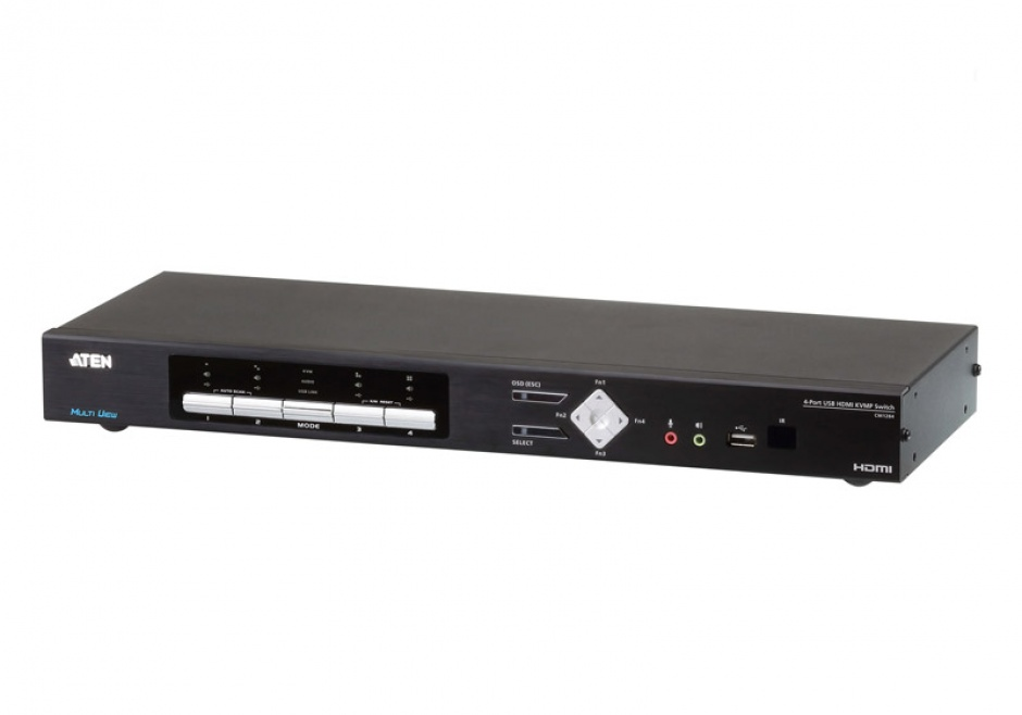 Imagine Switch KVMP USB 4K HDMI Multi-View 4 porturi, ATEN CM1284
