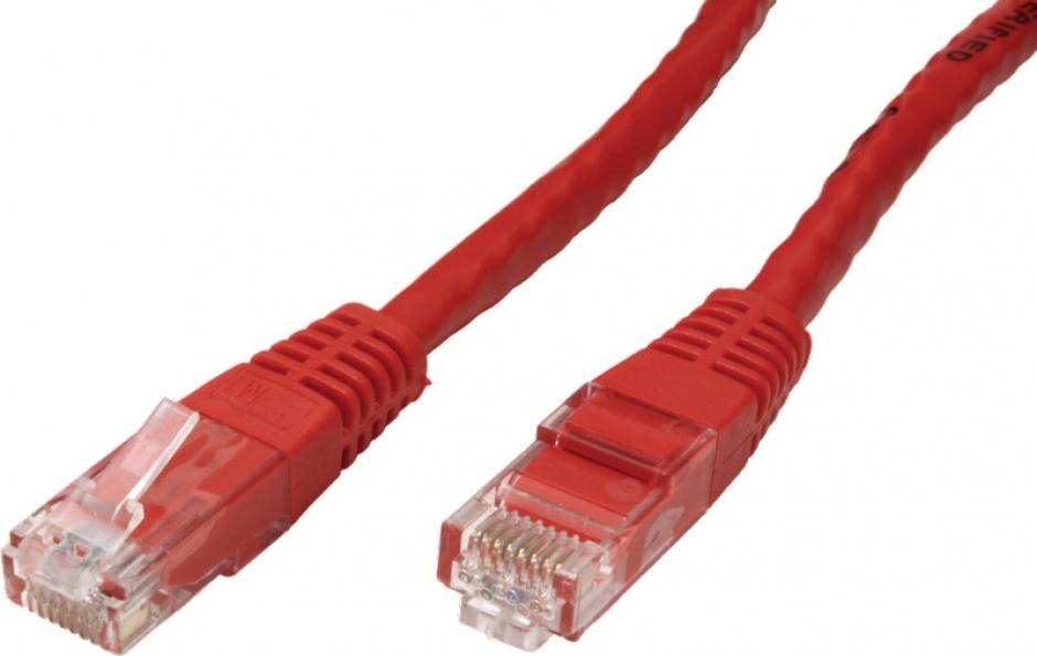 Imagine Cablu de retea RJ45 MYCON UTP Cat.6 7m Rosu, CON1571-1