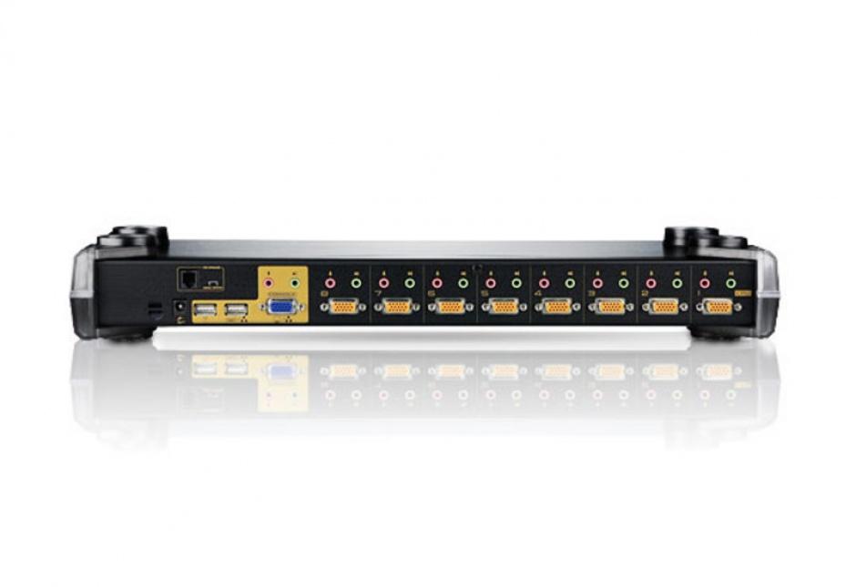 Imagine Distribuitor KVM PS/2-USB VGA/Audio 8 porturi, ATEN CS1758-1
