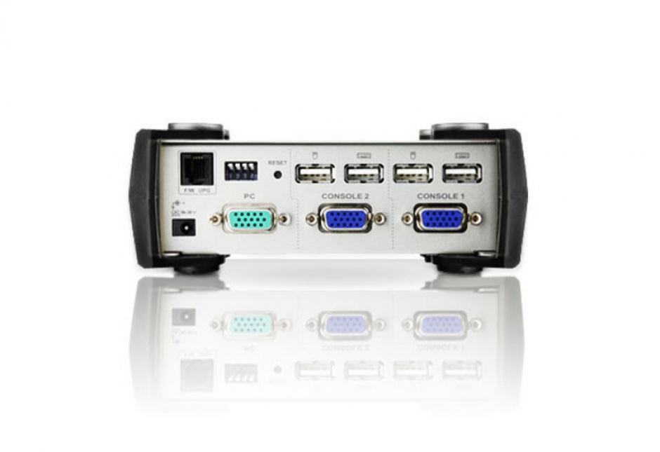 Imagine Computer Sharing Device USB, 2 utilizatori, Aten CS231-1