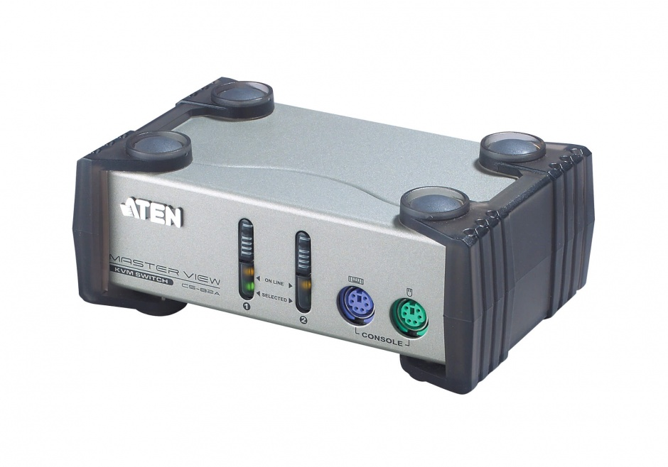 Imagine Distribuitor KVM Digital PS/2 VGA 2 porturi, Aten CS82A