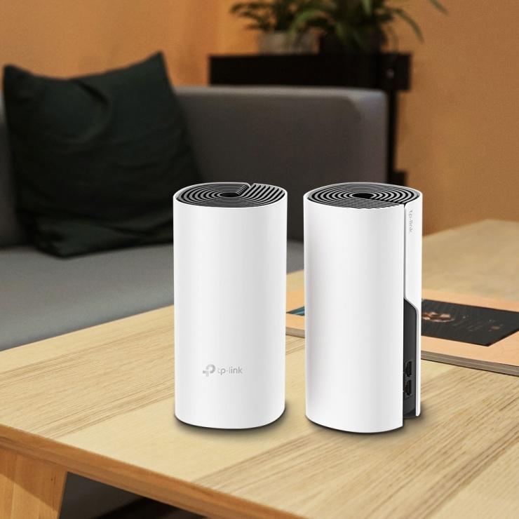 Imagine Sistem Mesh Wi-Fi pentru intreaga casa AC1200, TP-LINK Deco M4-2