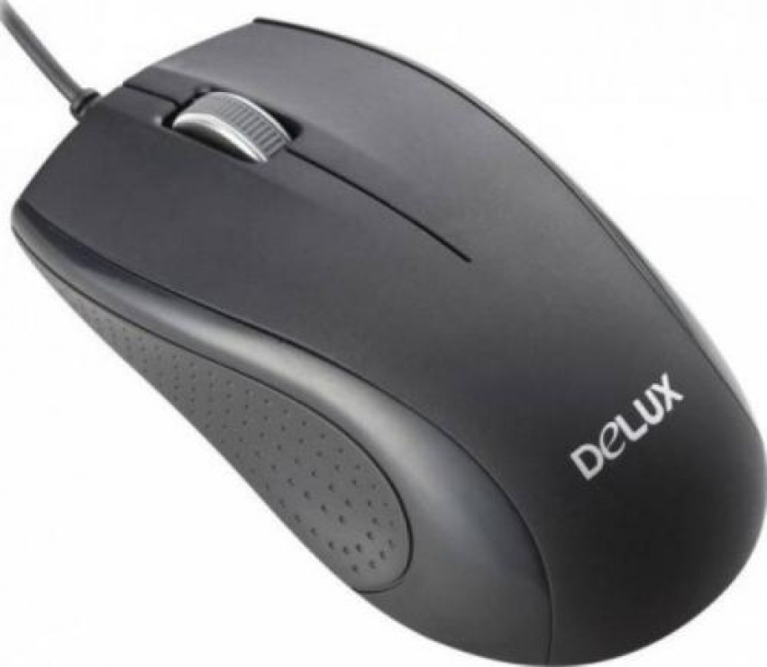 Imagine Mouse optic USB Negru, Delux DLM-136BU