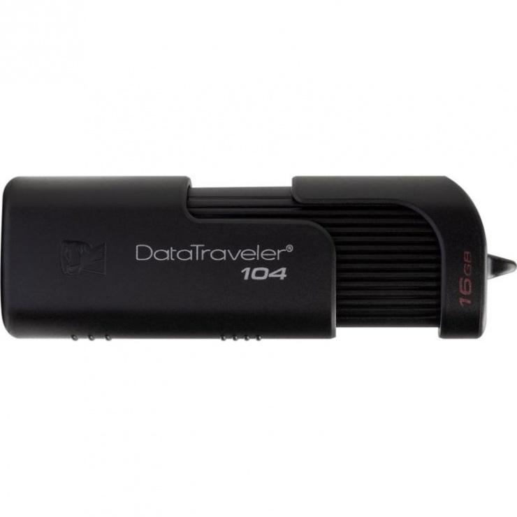 Imagine Stick USB 2.0 retractabil 16GB Kingston DT104/16GB