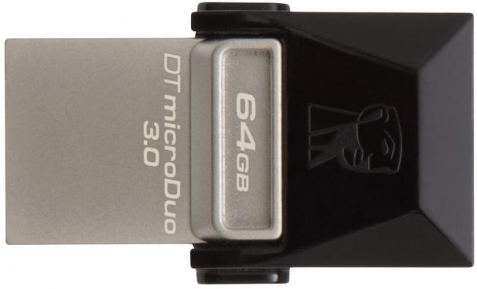 Imagine Stick USB 3.0 64GB KINGSTON DATA TRAVELER Micro Duo OTG, DTDUO3/64GB-1