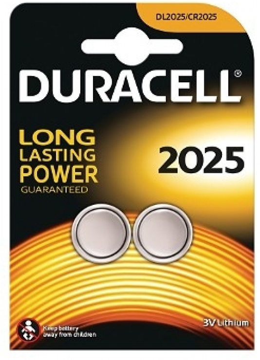Imagine Set 2 baterii 3V CR2025, Duracell