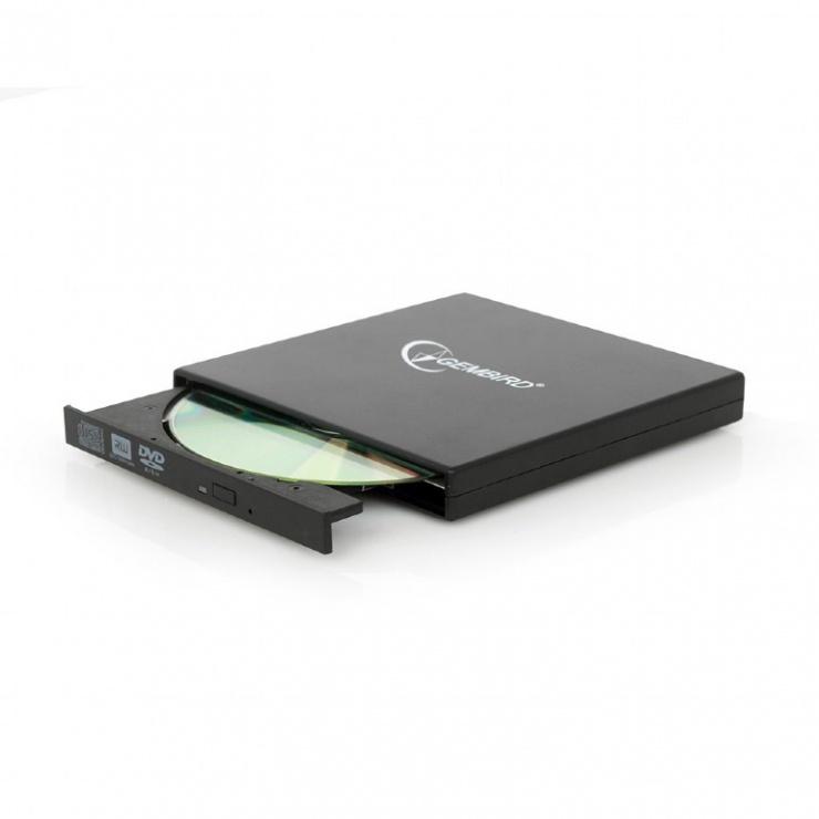 Imagine Unitate optica externa DVDRW, Gembird DVD-USB-02