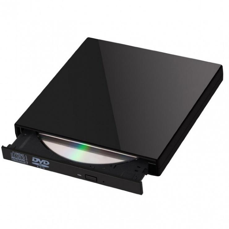 Imagine Unitate optica externa DVDRW, Gembird DVD-USB-02-1