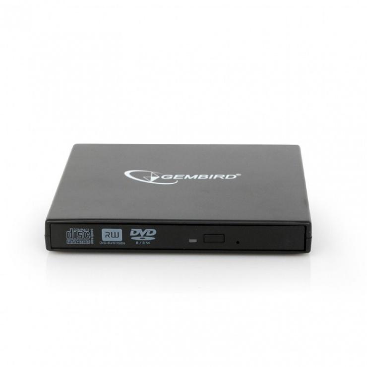 Imagine Unitate optica externa DVDRW, Gembird DVD-USB-02-5