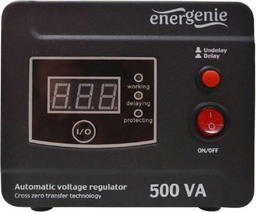 Imagine Stabilizator tensiune (AVR) 500VA/ 300W, Energenie EG-AVR-D500-01