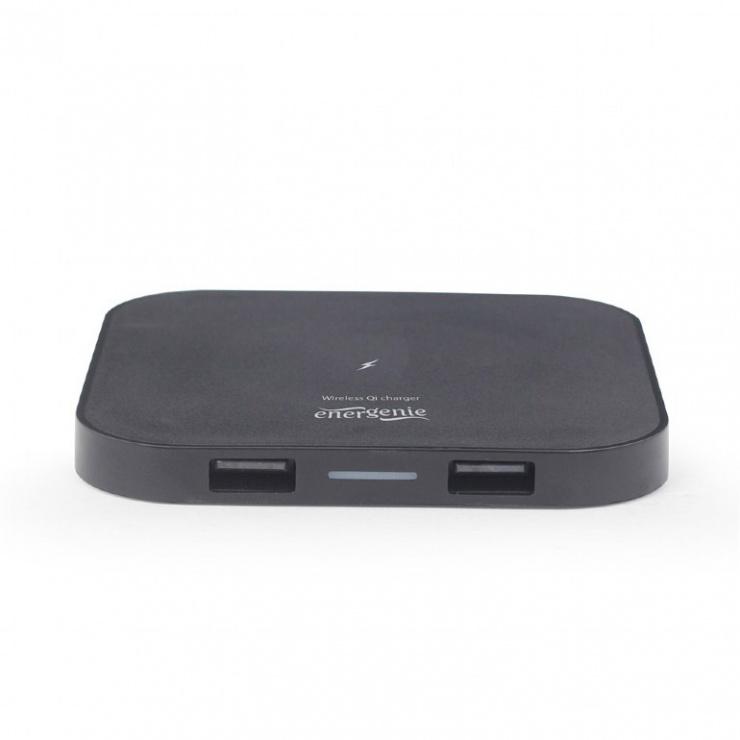 Imagine Incarcator wireless QI 5W, Gembird EG-WCQI-02-3