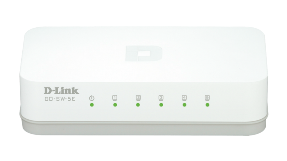 Imagine Switch 5 porturi 10/100 Mb/s, D-LINK GO-SW-5E