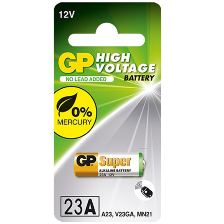 Imagine Baterie pentru telecomanda auto 12V 23A, GP Batteries