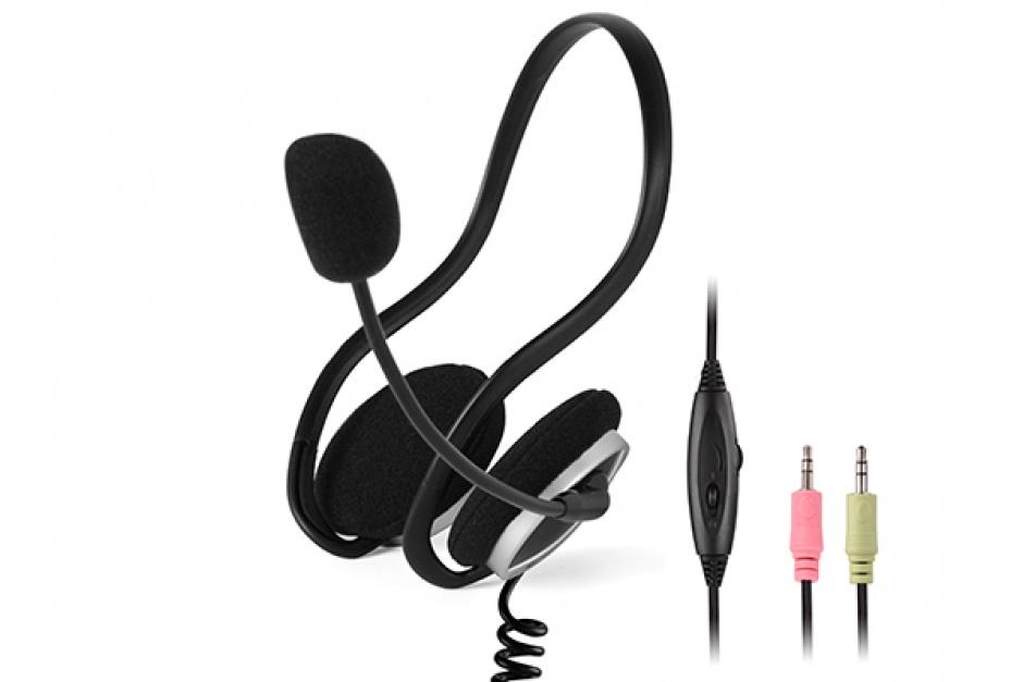 Imagine Casti cu microfon flexibil, A4TECH HS-5P-1