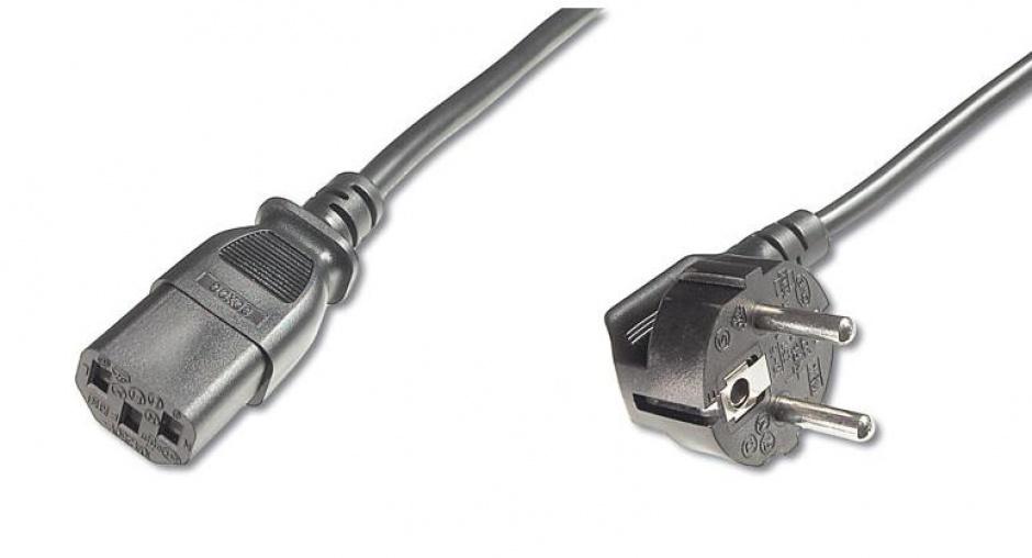 Imagine Cablu de alimentare PC C13 2m negru, KPSP2