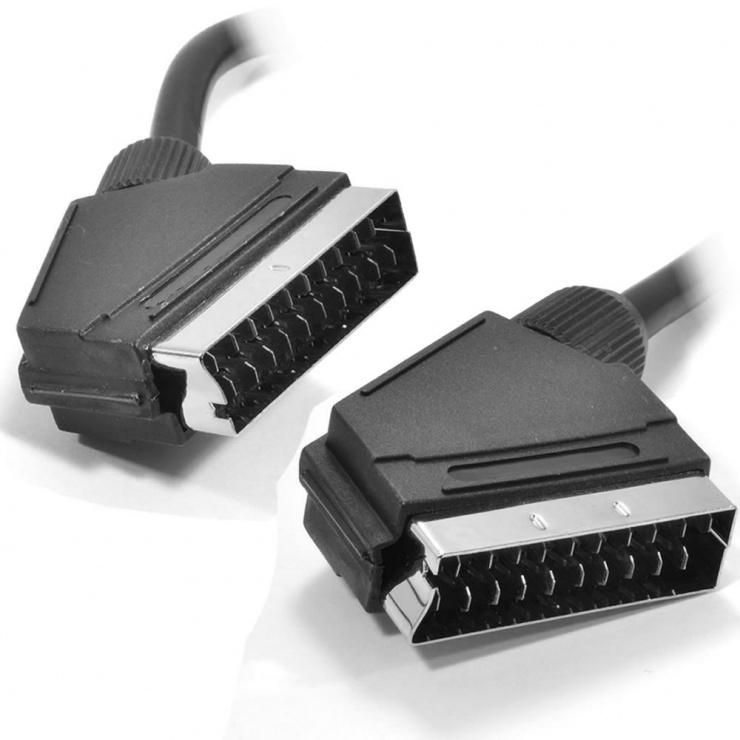 Imagine Cablu Scart la Scart T-T 2m Negru, KTCBLHE11001A