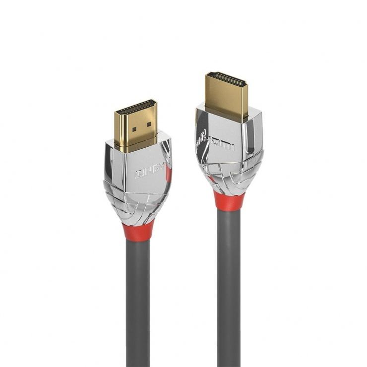 Imagine Cablu HDMI UHD 4K Cromo Line T-T 0.3m, Lindy L37869