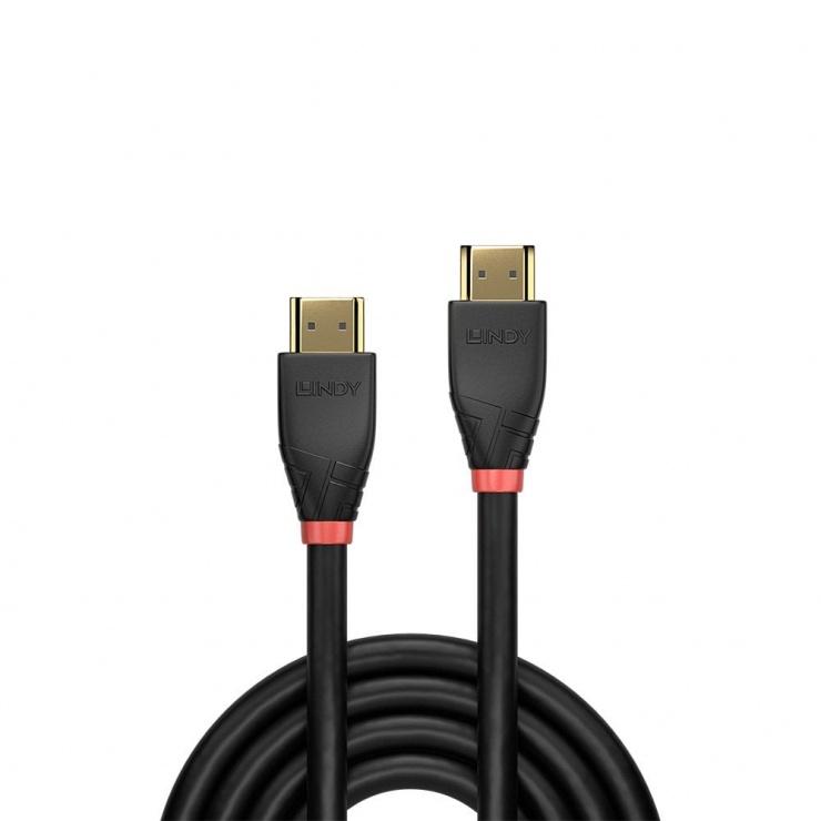 Imagine Cablu HDMI activ v2.0 4K T-T 20m Negru, Lindy L41073-1