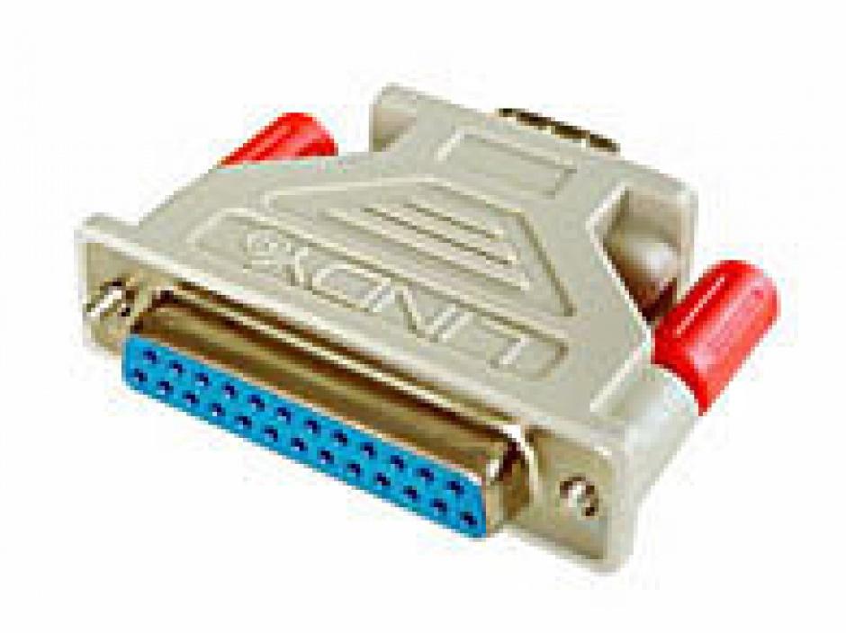 Imagine Adaptor serial DB25 la DB9 M-T, Lindy L70030