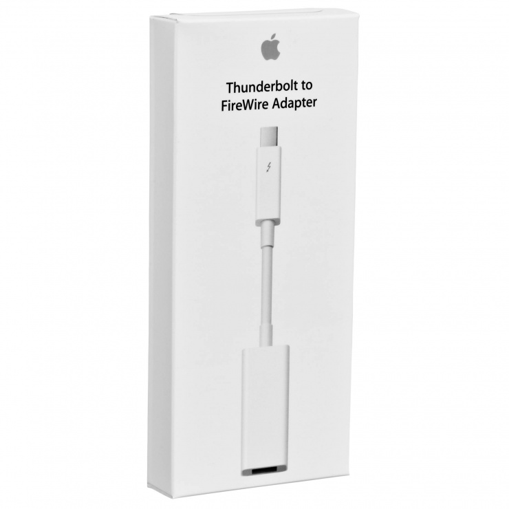 Imagine Adaptor Thunderbolt la FireWire 800 (9 pini), Apple MD464ZM/A-1