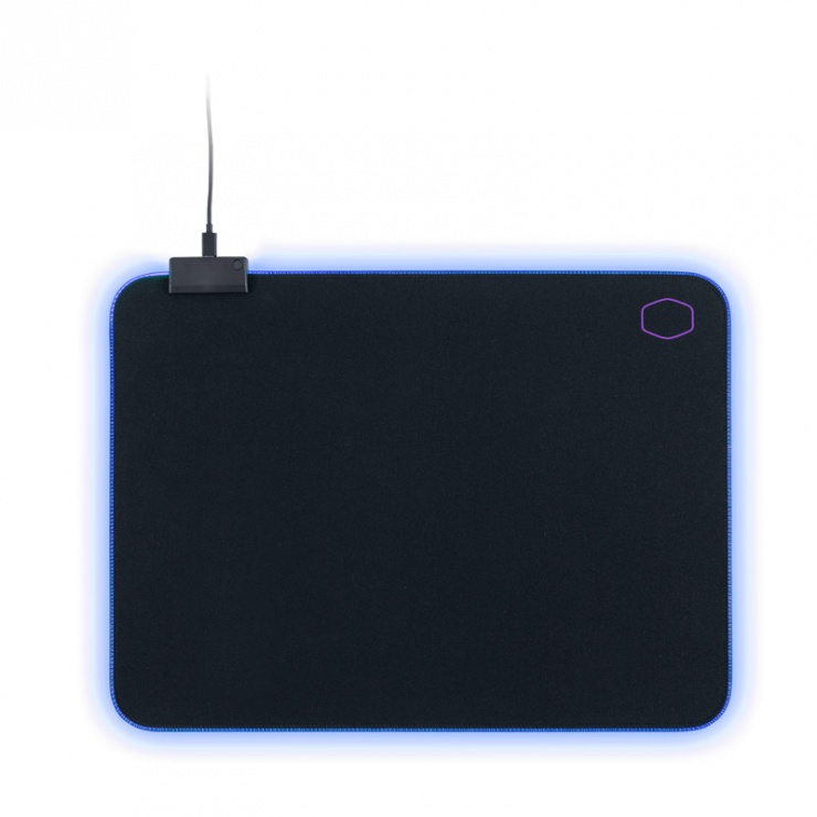 Imagine Mouse pad Gaming RGB 370 x 270 Negru & Mov, Cooler Master MPA-MP750-M