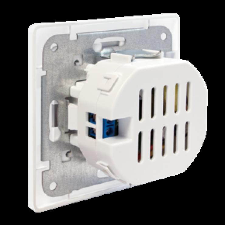 Imagine Priza ingropata perete cu 2 x USB 2.1A, Logilink PA0163