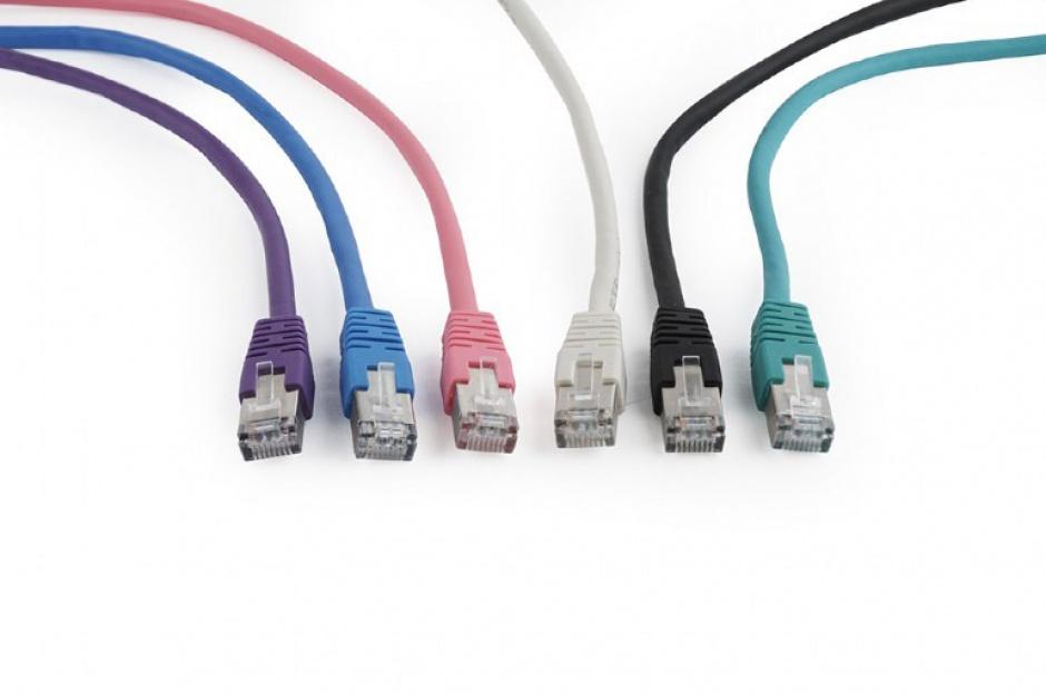 Imagine Cablu de retea RJ45 FTP cat6 15m Gri, Gembird PP6-15M-1