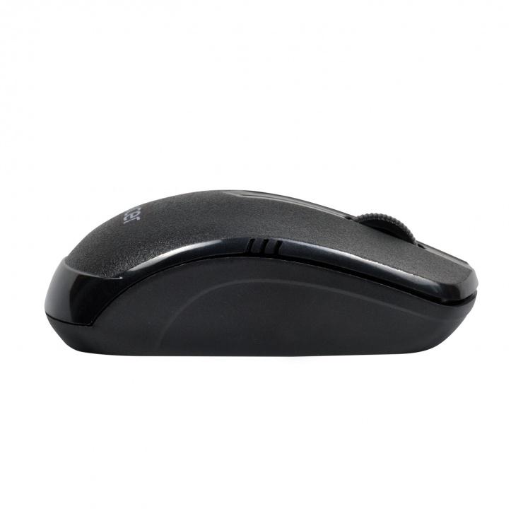 Imagine Mouse wireless 1000dpi negru, Spacer SPMO-161-3