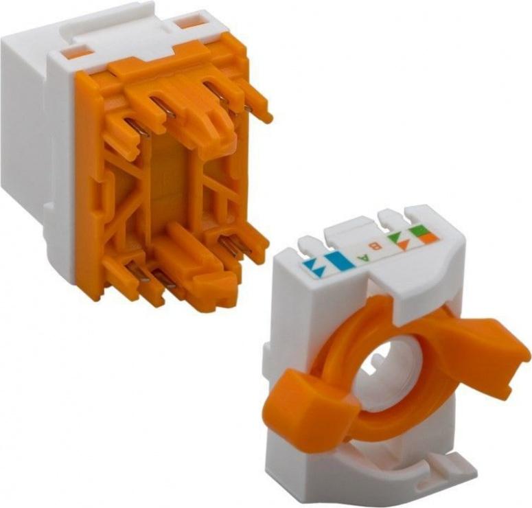 Imagine Modul Keystone cat 6 UTP tool-free cu buton de rotire, 93826-2