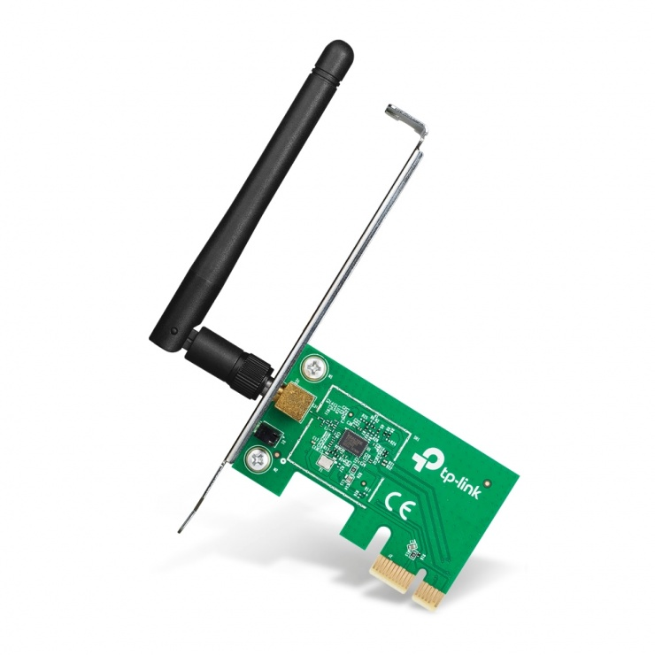 Imagine Placa retea Wireless PCI Express 150Mbps, TP-LINK TL-WN781ND