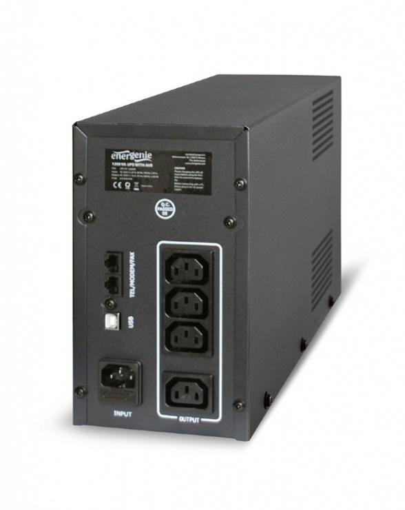 Imagine UPS Gembird 1200VA (AVR), UPS-PC-1202AP-1
