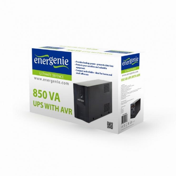 Imagine UPS cu AVR 850VA, Gembird UPS-PC-850AP-2