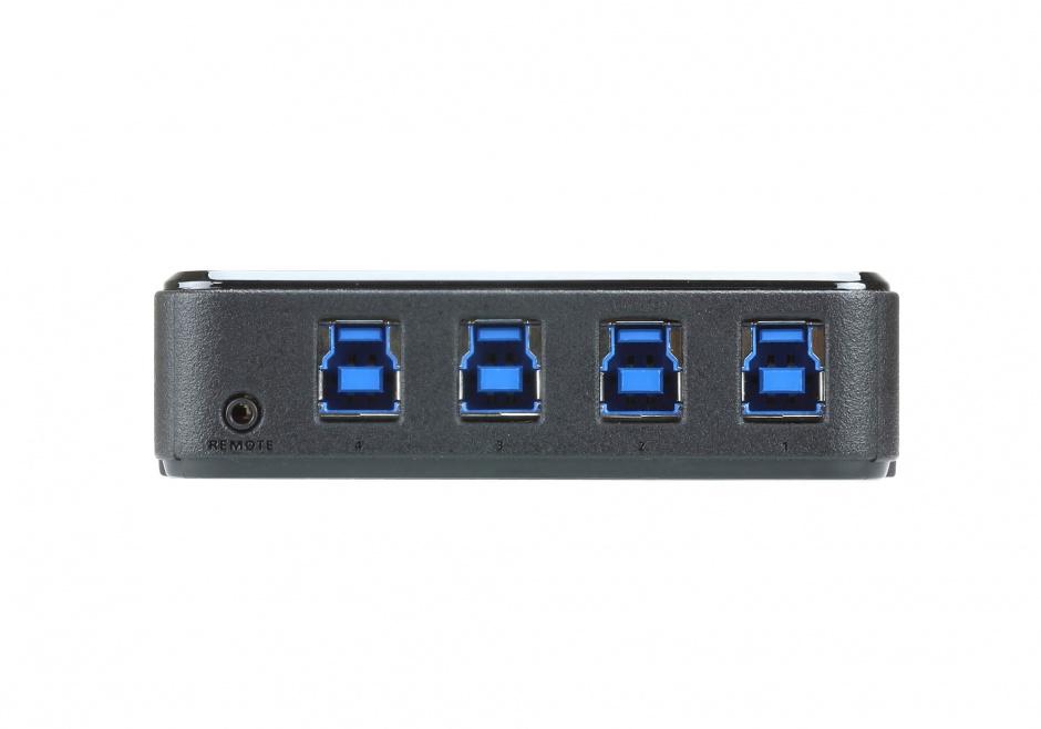 Imagine Sharing Switch USB 3.1 Gen1 (USB 3.0) 4 PC x 4 periferice, ATEN US3344