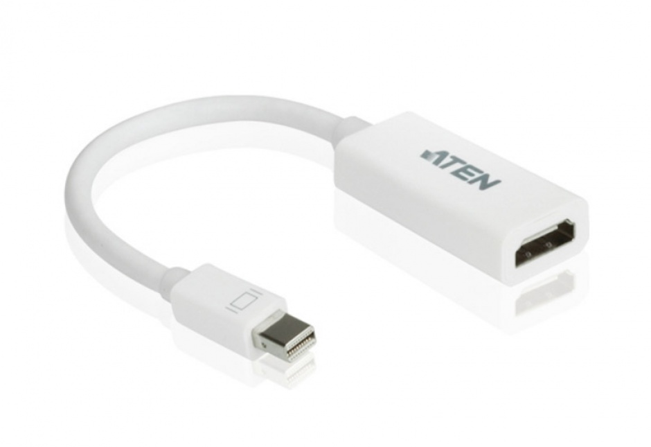 Imagine Adaptor Mini Displayport la HDMI T-M Alb, ATEN VC980