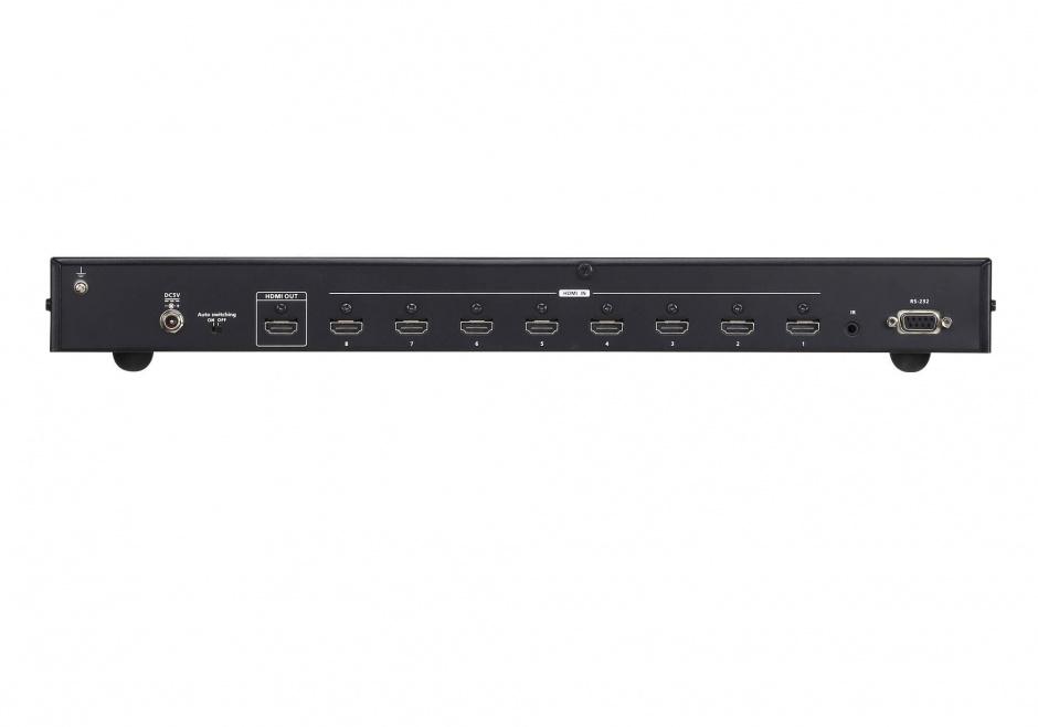 Imagine Switch HDMI cu 8 porturi True 4K HDR, ATEN VS0801HB