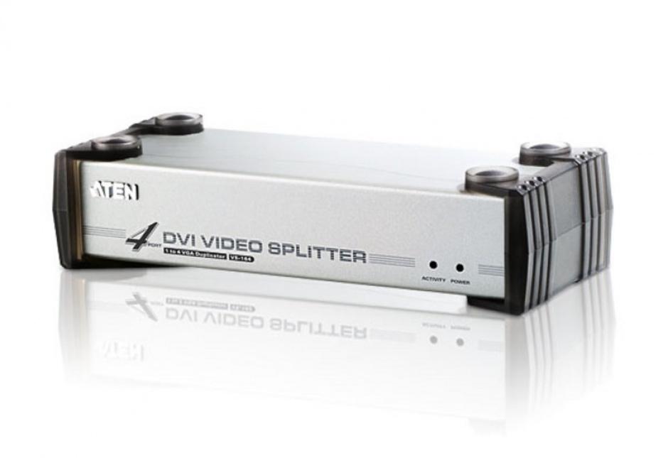 Imagine Multiplicator DVI 4 porturi cu audio, ATEN VS164