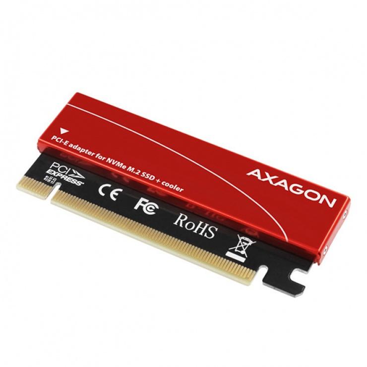 Imagine Adaptor PCI Express la M.2 NVME, Axagon PCEM2-S-1