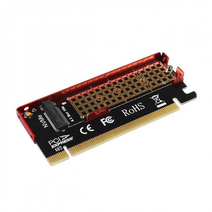 Imagine Adaptor PCI Express la M.2 NVME, Axagon PCEM2-S-2